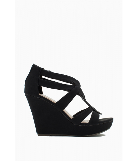 Incaltaminte Femei CheapChic Seasonless Super Wedge Black