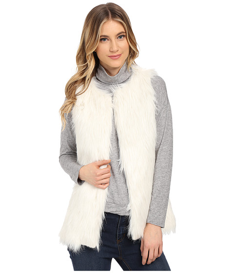 Imbracaminte Femei Gabriella Rocha Alexa Faux Fur Vest Ivory