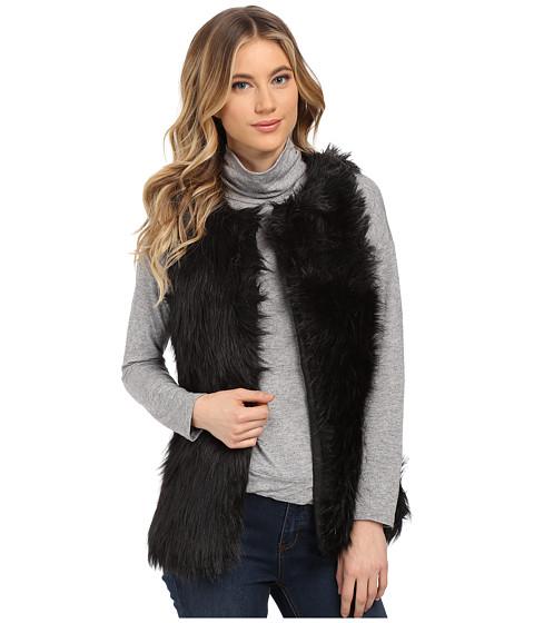 Imbracaminte Femei Gabriella Rocha Alexa Faux Fur Vest Black