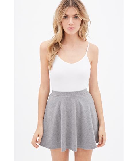 Imbracaminte Femei Forever21 Knit V-Neck Cami White