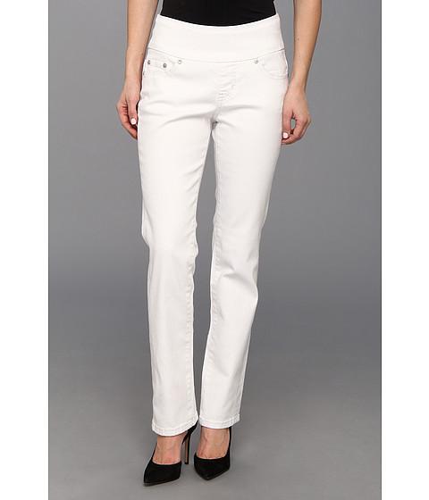 Imbracaminte Femei Jag Jeans Petite Peri Pull-On Straight Jean in White White