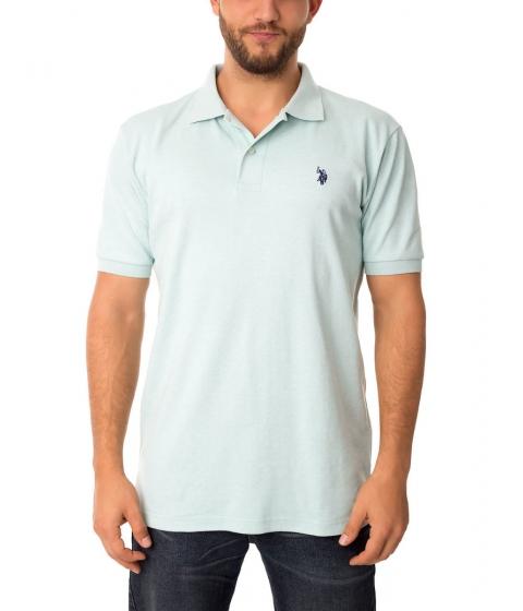 Imbracaminte Barbati US Polo Assn Interlock Polo Shirt MINT HEATHER