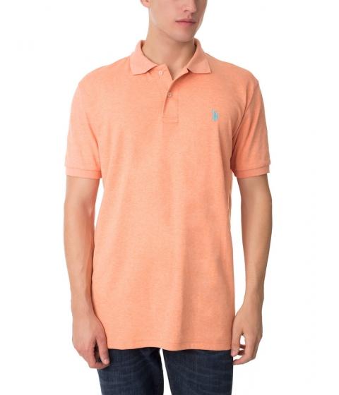 Imbracaminte Barbati US Polo Assn Interlock Polo Shirt SUNRISE HEATHER