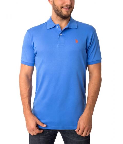 Imbracaminte Barbati US Polo Assn Interlock Polo Shirt OCEAN SPRAY