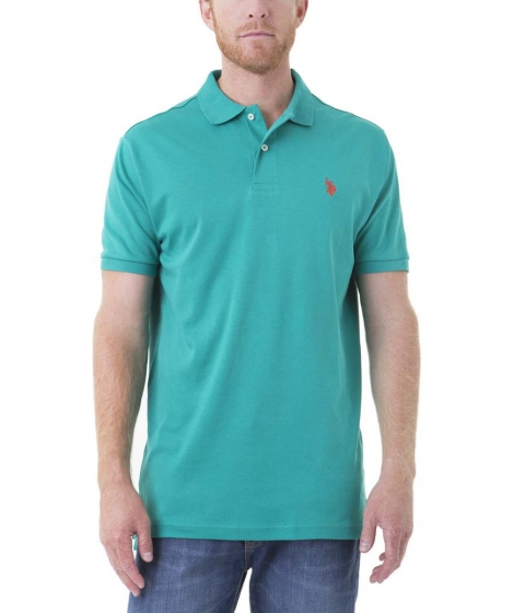 Imbracaminte Barbati US Polo Assn Interlock Polo Shirt ARTIST TEAL