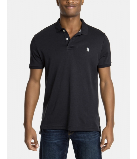 Imbracaminte Barbati US Polo Assn Interlock Polo Shirt Black
