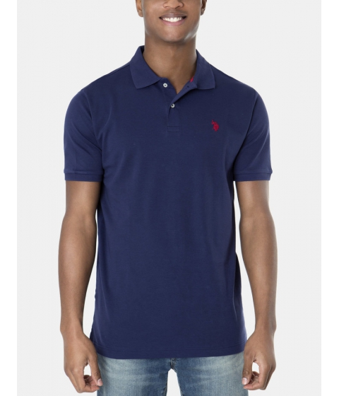 Imbracaminte Barbati US Polo Assn Interlock Polo Shirt Classic Navy