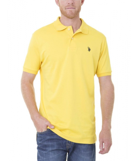 Imbracaminte Barbati US Polo Assn Interlock Polo Shirt PREPPY YELLOW