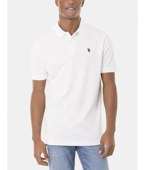 Imbracaminte Barbati US Polo Assn Interlock Polo Shirt White
