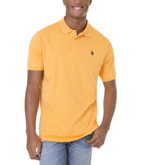 Imbracaminte Barbati US Polo Assn Interlock Polo Shirt SUMMER SCHOOL ORANGE