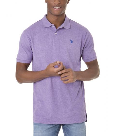 Imbracaminte Barbati US Polo Assn Interlock Polo Shirt TIEPURPLEHTRBLURAFT