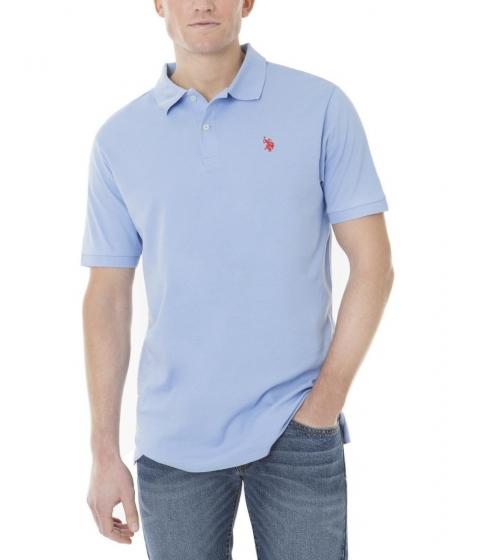 Imbracaminte Barbati US Polo Assn Interlock Polo Shirt VISTA BLUE