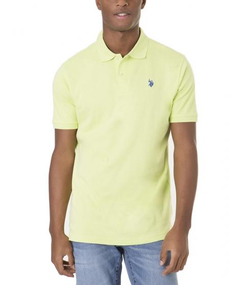 Imbracaminte Barbati US Polo Assn Interlock Polo Shirt GREEN MADRAS