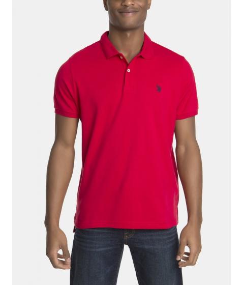 Imbracaminte Barbati US Polo Assn Interlock Polo Shirt Engine Red