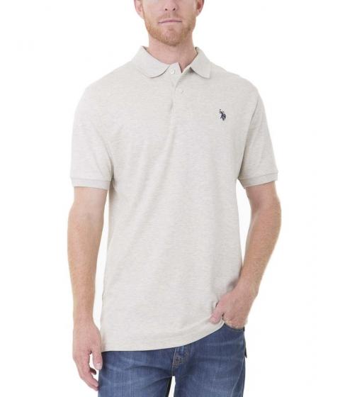 Imbracaminte Barbati US Polo Assn Interlock Polo Shirt Oatmeal Heather
