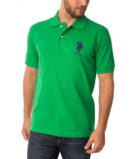 Imbracaminte Barbati US Polo Assn BIG LOGO Polo Shirt COURT GREEN