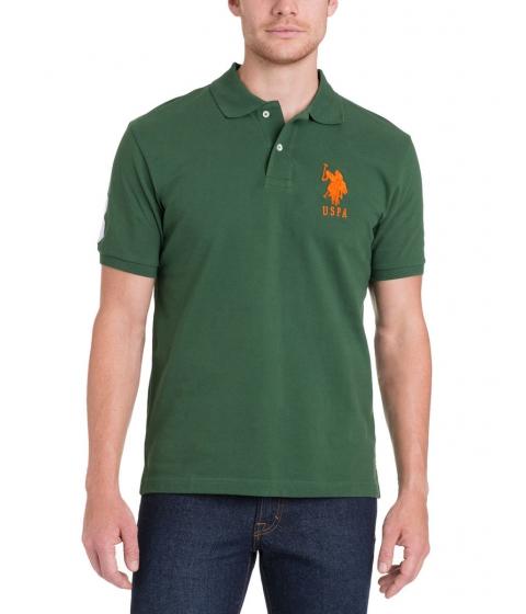 Imbracaminte Barbati US Polo Assn BIG LOGO Polo Shirt CYBER GREEN