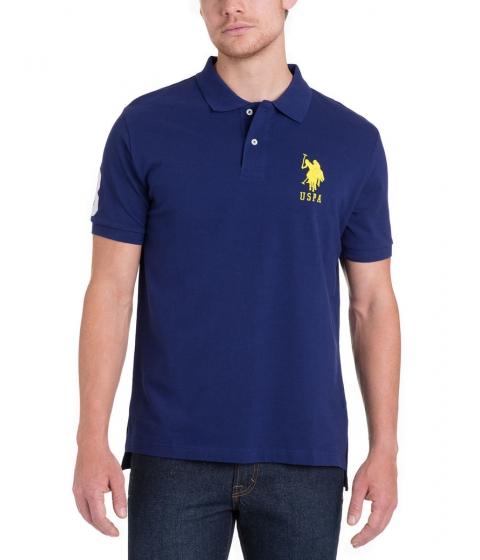 Imbracaminte Barbati US Polo Assn BIG LOGO Polo Shirt DODGER BLUE