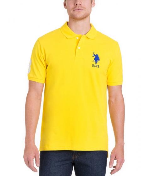 Imbracaminte Barbati US Polo Assn BIG LOGO Polo Shirt SAILING YELLOW