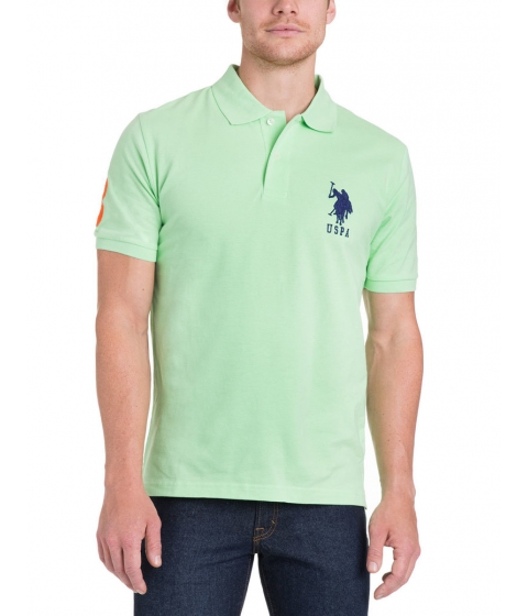 Imbracaminte Barbati US Polo Assn BIG LOGO Polo Shirt Summer Green