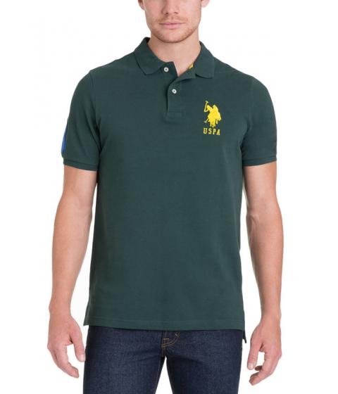 Imbracaminte Barbati US Polo Assn BIG LOGO Polo Shirt PARK GREEN