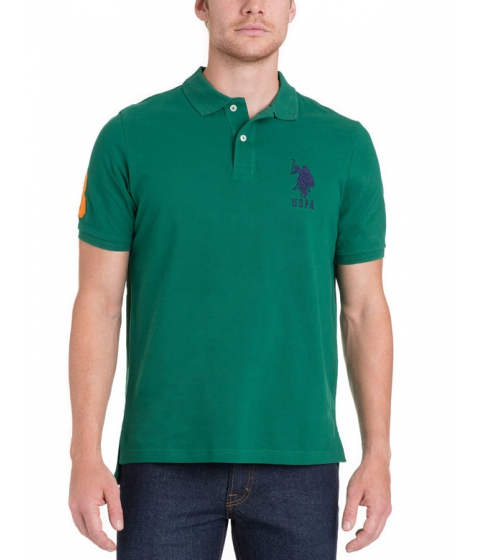 Imbracaminte Barbati US Polo Assn BIG LOGO Polo Shirt DEEP FOREST