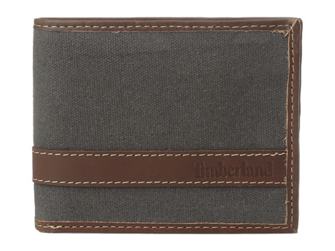Genti Barbati Timberland Canvas Hunter Passcase Charcoal