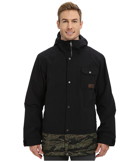 Imbracaminte Barbati The North Face Number Eleven Jacket TNF BlackForest Night Green JC Tiger Camo Print