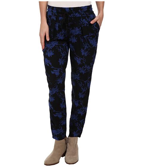 Imbracaminte Femei Lucky Brand Soft Pant Black Floral Print