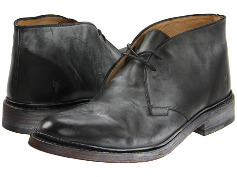 Incaltaminte Barbati Frye James Chukka BlackAntique Pull Up