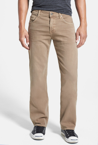 Imbracaminte Barbati 7 For All Mankind Slimmy Straight Leg Jeans SAND