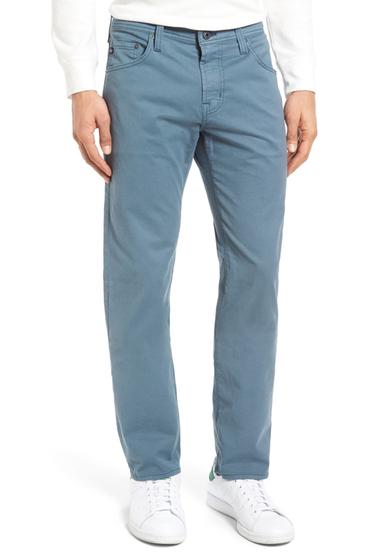Imbracaminte Barbati AG Matchbox Slim Straight Leg Pants WINDSTORM
