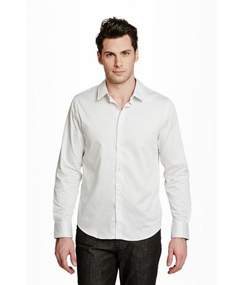Imbracaminte Barbati GUESS Ezra Printed Shirt true white