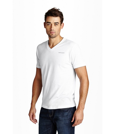 Imbracaminte Barbati GUESS Armin Jersey Tee true white
