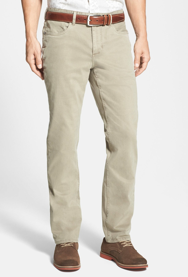 Imbracaminte Barbati Tommy Bahama Twill Smith Brushed Relaxed Fit Jean DARK TWILL TAN