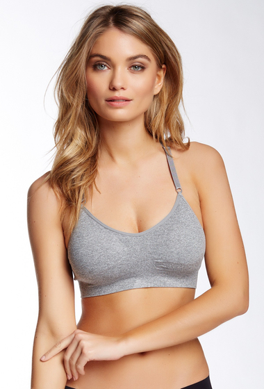 Imbracaminte Femei Free Press Work It Out Bralette Grey Heather