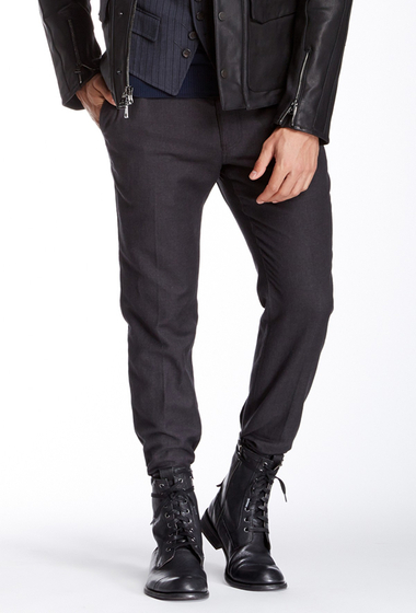 Imbracaminte Barbati John Varvatos Collection Slim Fit Pant SHALE GREY