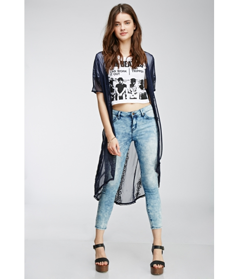 Imbracaminte Femei Forever21 Cloud Wash Skinny Jeans Denim washed