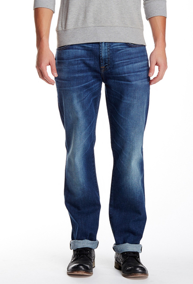 Imbracaminte Barbati 7 For All Mankind Standard Straight Leg Jean SKYTWNBLE