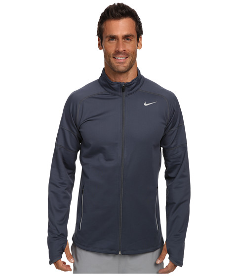 Imbracaminte Barbati Nike Element Thermal Full Zip Dark Magnet GreyDark Magnet GreyReflective Silver