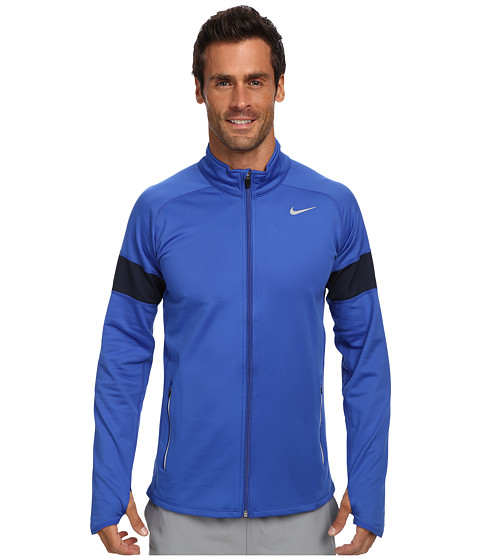 Imbracaminte Barbati Nike Element Thermal Full Zip Game RoyalObsidianReflective Silver