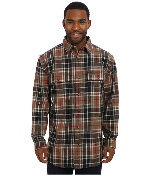 Imbracaminte Barbati Carhartt RD Youngstown Flannel Shirt Jacket Canyon Brown