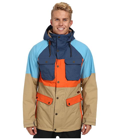 Imbracaminte Barbati Burton MB Frontier Jacket Cork Coloblock