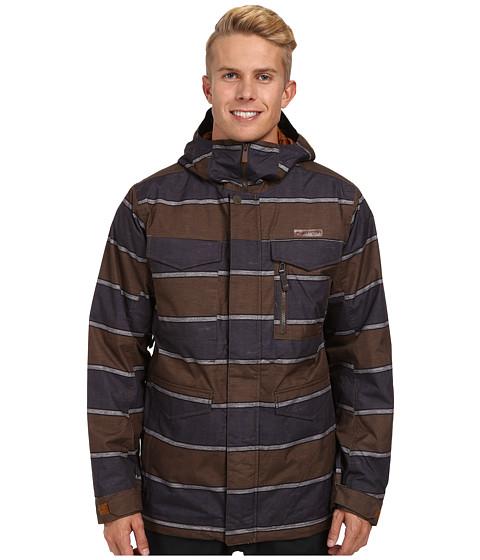 Imbracaminte Barbati Burton MB Covert Jacket True Penny Nyack Stripe
