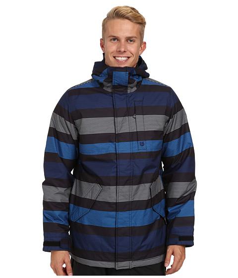 Imbracaminte Barbati Burton TWC Greenlight Jacket True Black Micro Stripe