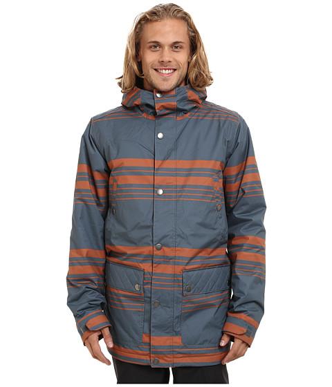 Imbracaminte Barbati Burton TWC Greenlight Jacket Bog Belmont Stripe