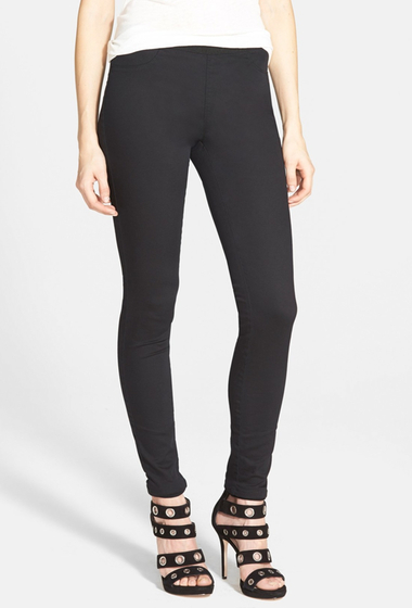 Imbracaminte Femei BLANKNYC Denim Cliff Hanger Leggings BLACK