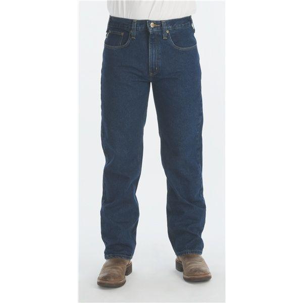 Imbracaminte Barbati Carhartt Traditional Fit Denim Jeans - Straight Leg DARK VINTAGE BLUE (01)