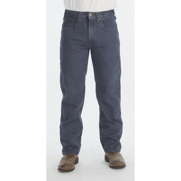 Imbracaminte Barbati Carhartt Traditional Fit Denim Jeans - Straight Leg DEEPSTONE (02)