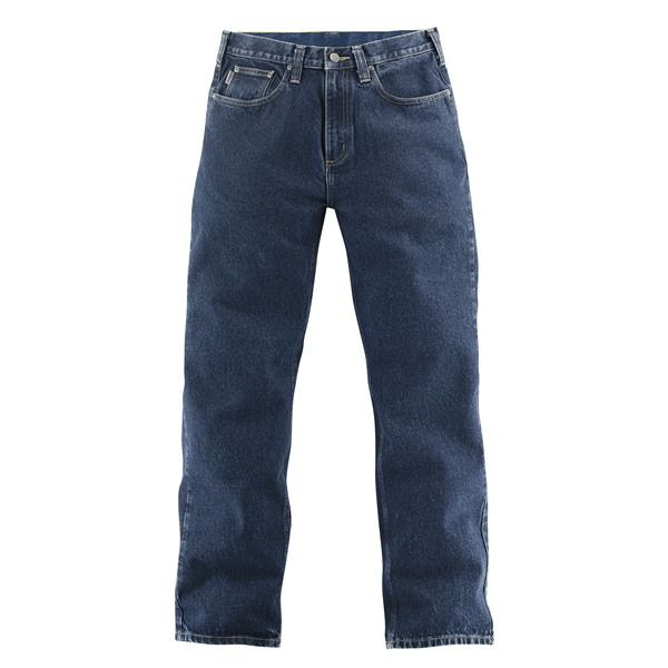 Imbracaminte Barbati Carhartt Relaxed Fit Work Jeans - Straight Leg LIGHT VINTAGE BLUE (02)